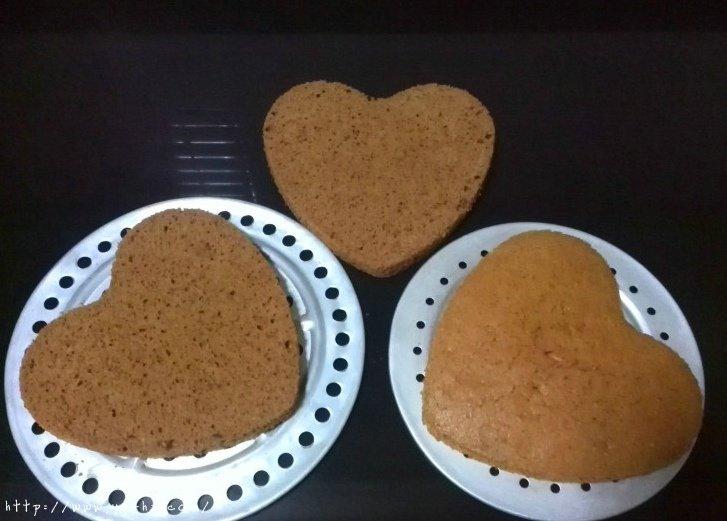心形花篮雏菊蛋糕的做法 步骤1