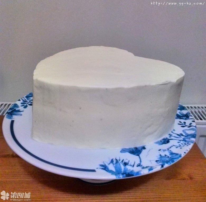 心形花篮雏菊蛋糕的做法 步骤4