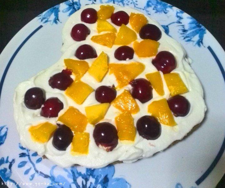 心形花篮雏菊蛋糕的做法 步骤2