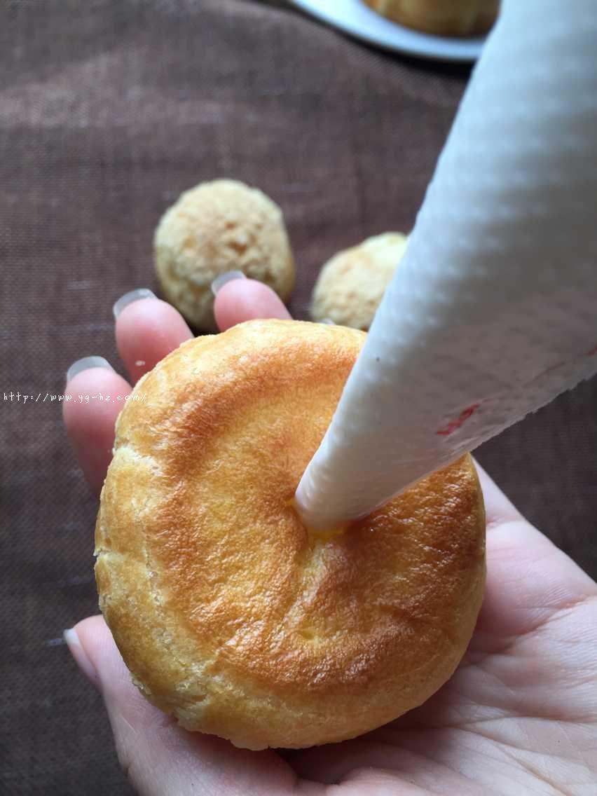 酥皮奶油泡芙--#皮黑森林#的做法 步骤14