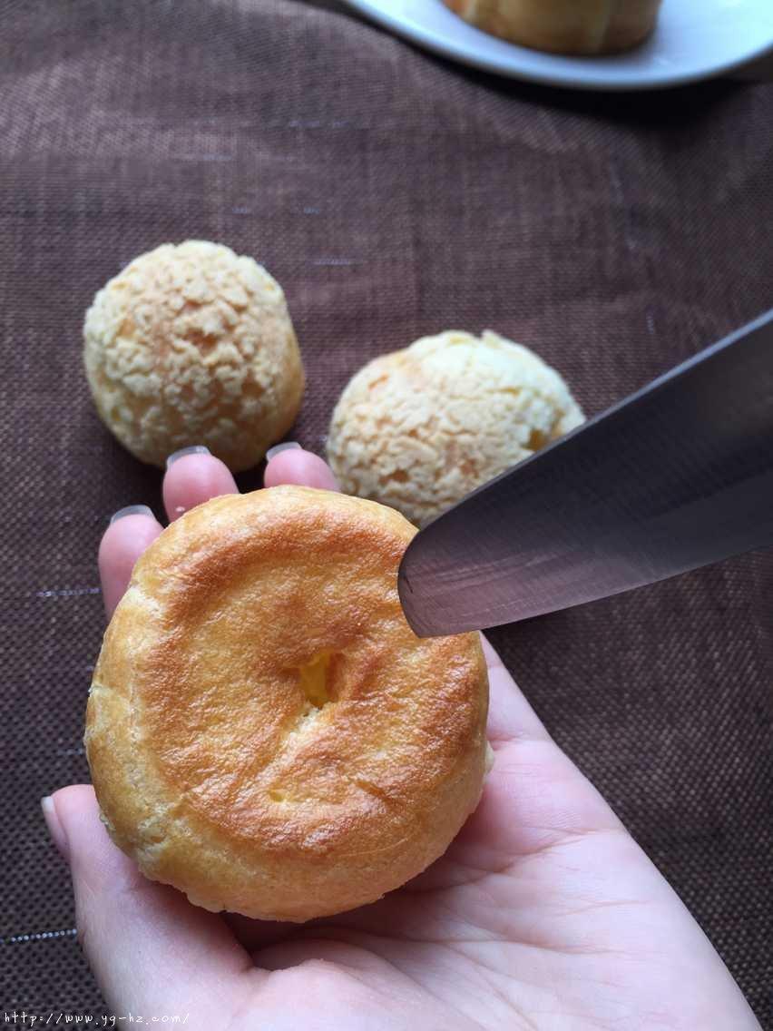 酥皮奶油泡芙--#皮黑森林#的做法 步骤13