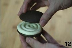 奶酪夹心巧克力派的做法 步骤12