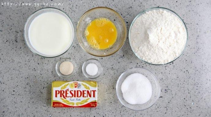 君之烘焙之奶酪面包的做法