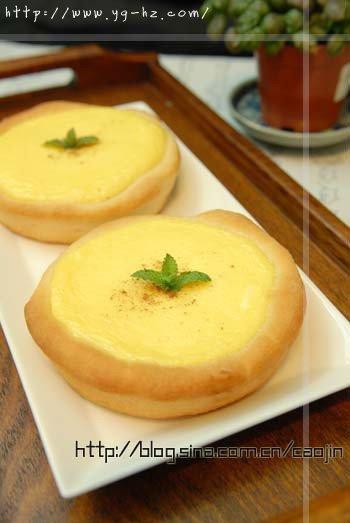 面包乳酪塔的做法