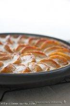 焦糖乳酪苹果塔的做法