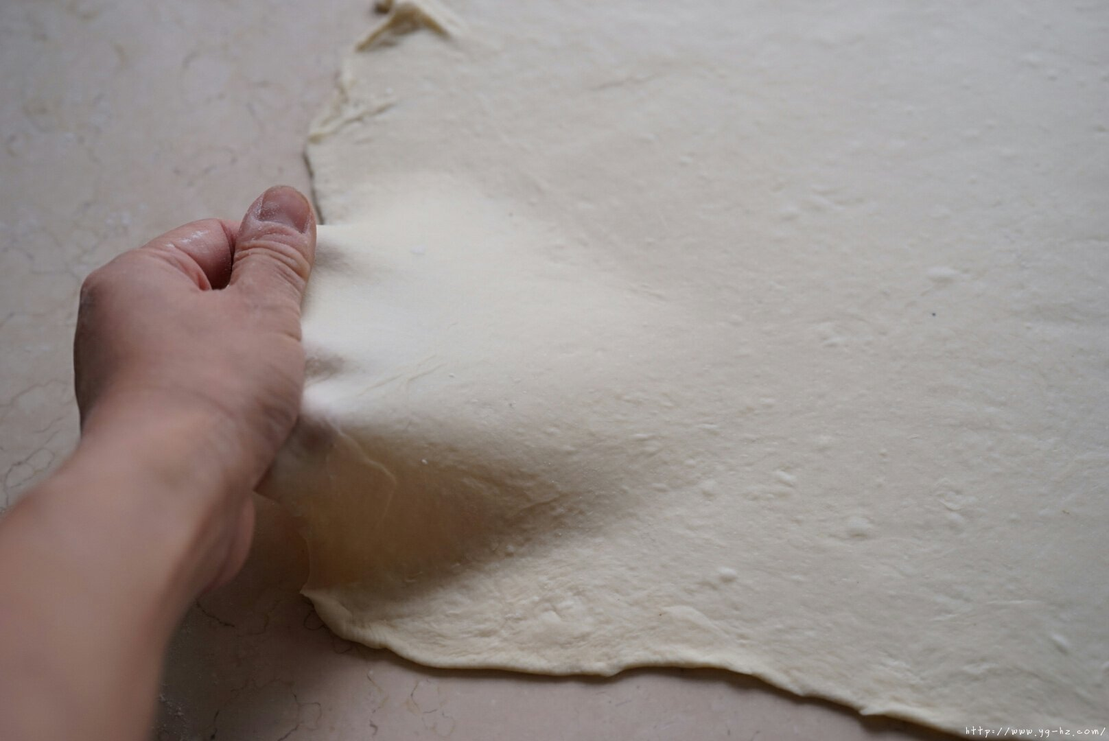 蔓越莓手撕的做法 步骤8