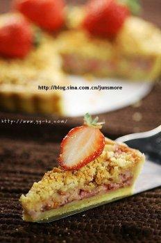 香酥草莓派的做法