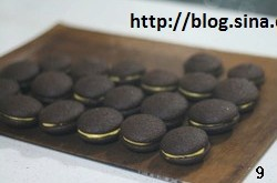 巧克力奶油夹心派的做法 步骤9