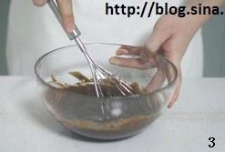 巧克力奶油夹心派的做法 步骤3