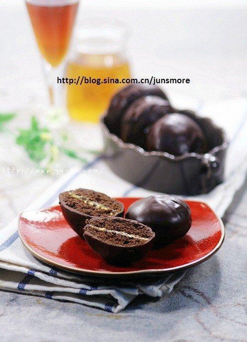 巧克力奶油夹心派的做法