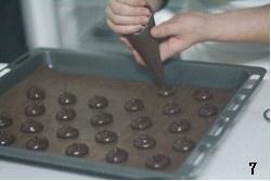 巧克力奶油夹心派的做法 步骤7