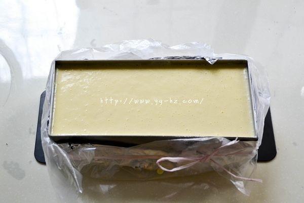 红豆乳酪蛋糕的做法 步骤7
