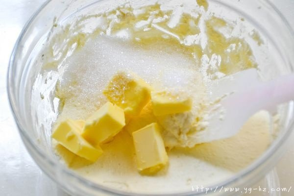 红豆乳酪蛋糕的做法 步骤2