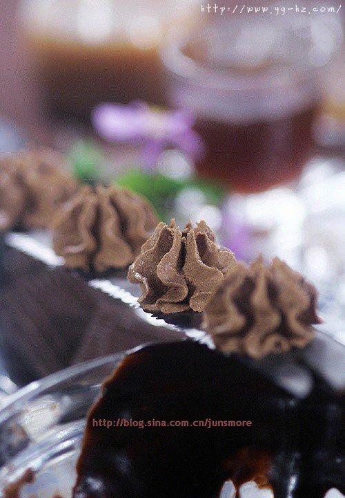 巧克力奶油霜的做法