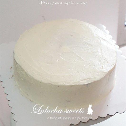 奶油霜转印蛋糕(彩铅漫画质感)的做法 步骤12