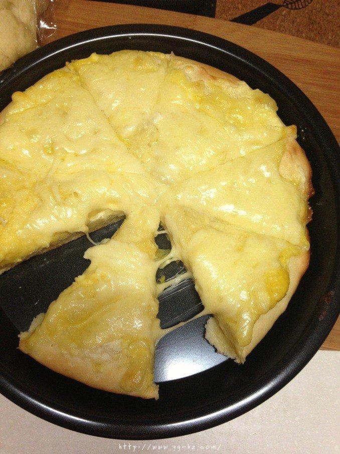 芝士榴莲披萨的做法