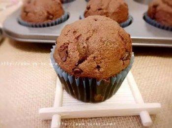 巧克力麦芬蛋糕的做法(图文教程)不比星巴克差的配方