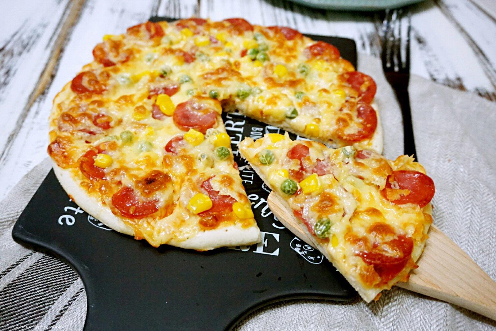 意式披萨的做法 步骤15