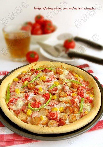 番茄披萨的做法