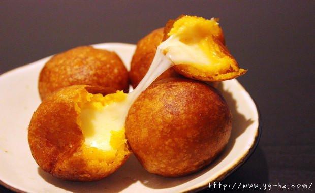 红薯系列——夹馅红薯丸子(奶酪)的做法
