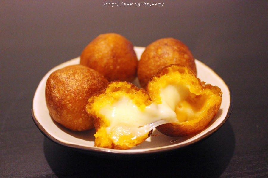 红薯系列——夹馅红薯丸子(奶酪)的做法 步骤10