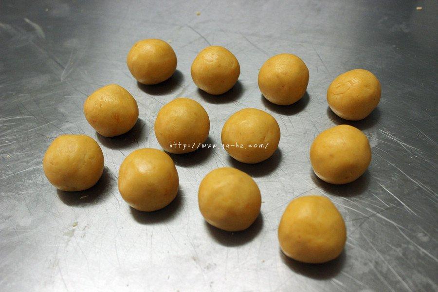 红薯系列——夹馅红薯丸子(奶酪)的做法 步骤7