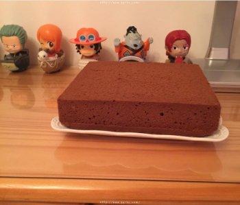 可可戚风蛋糕(8寸)的做法