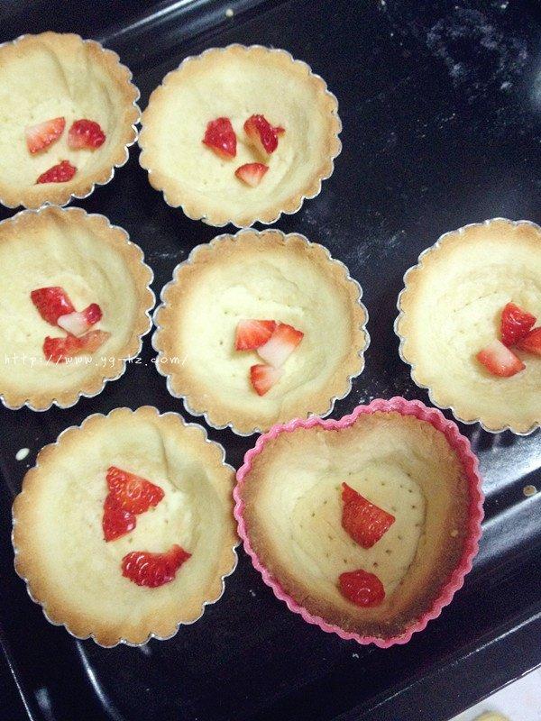 杏仁奶油草莓塔的做法 步骤7