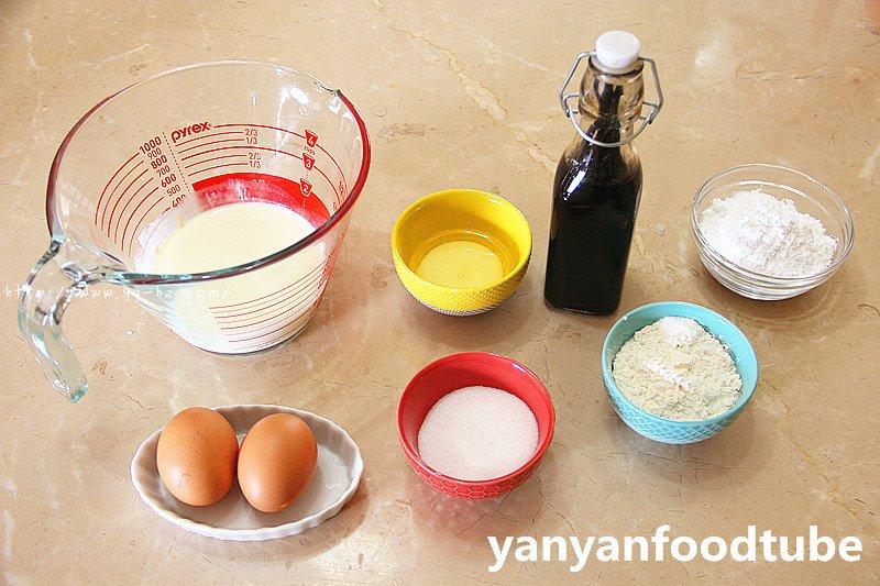 奶油元宝小蛋糕 Yuanbao Cake的做法 步骤1