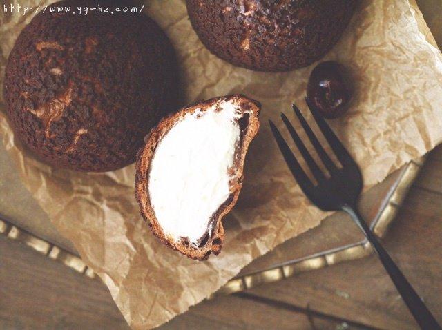 巧克力酥皮泡芙的做法 步骤13