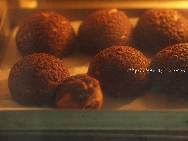 巧克力酥皮泡芙的做法 步骤12