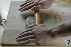 黑麦葡萄干司康的做法 步骤7