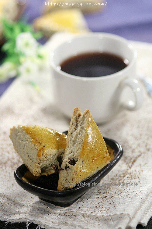 黑麦葡萄干司康的做法