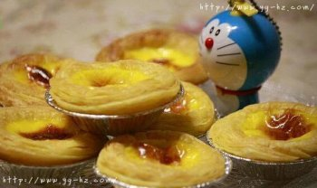 超简单葡式蛋挞的做法(配方可做12个)