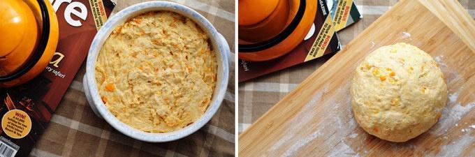 酵母版红薯司康的做法 步骤3