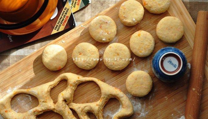 酵母版红薯司康的做法 步骤4
