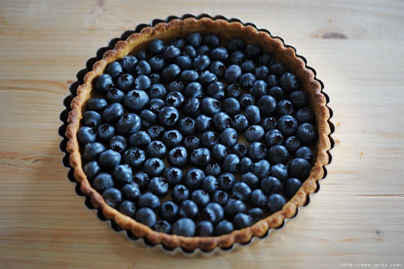 蓝莓派的做法 步骤17