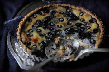 蓝莓派的做法