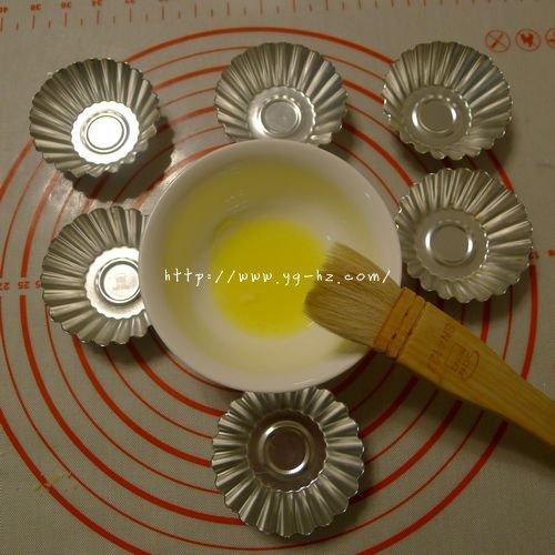 清甜杏仁奶油挞~水果塔~幸福草莓派~的做法 步骤6