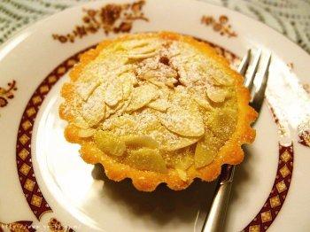 清甜杏仁奶油挞~水果塔