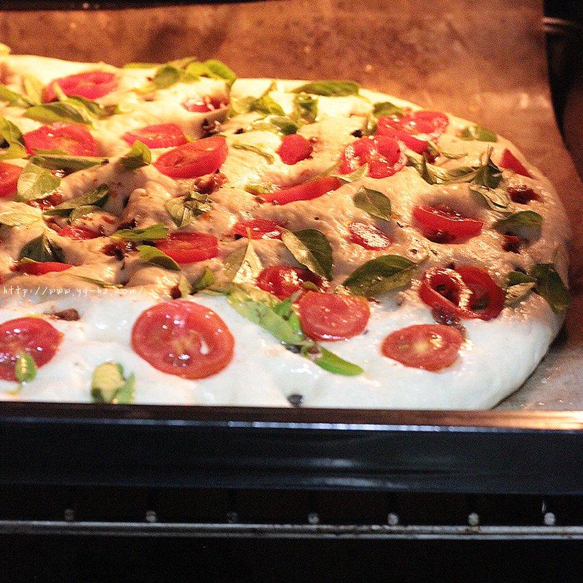 【增肌减脂】番茄土豆全麦面包饼 披萨饼 纯素的做法 步骤5