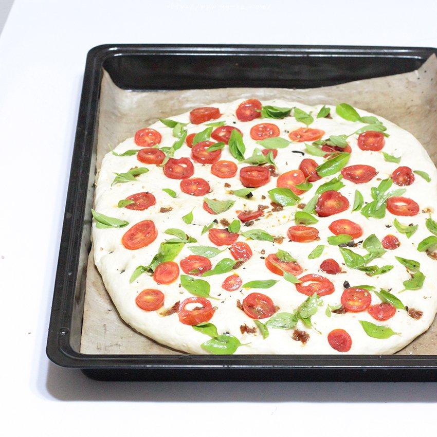 【增肌减脂】番茄土豆全麦面包饼 披萨饼 纯素的做法 步骤4