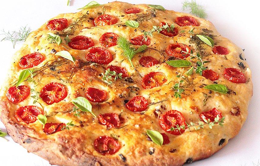 【增肌减脂】番茄土豆全麦面包饼 披萨饼 纯素的做法
