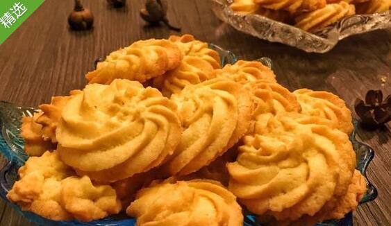 椰香(椰蓉)曲奇饼干的做法