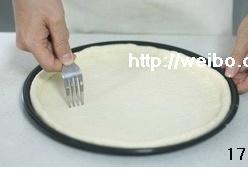 黑椒鸡肉比萨(君之配方)的做法 步骤17