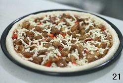 黑椒鸡肉比萨(君之配方)的做法 步骤20