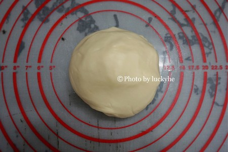 椰蓉荷花酥的做法 步骤2