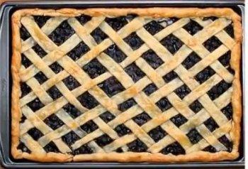 蓝莓(酱)派的做法