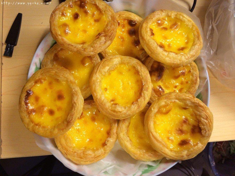 原味葡式蛋挞(吉士粉版)的做法