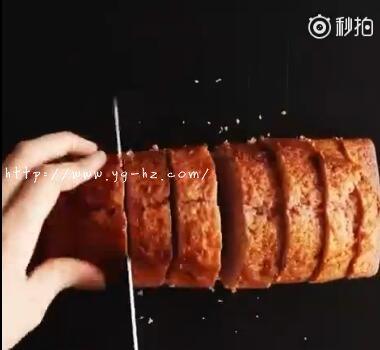 树莓面包切片